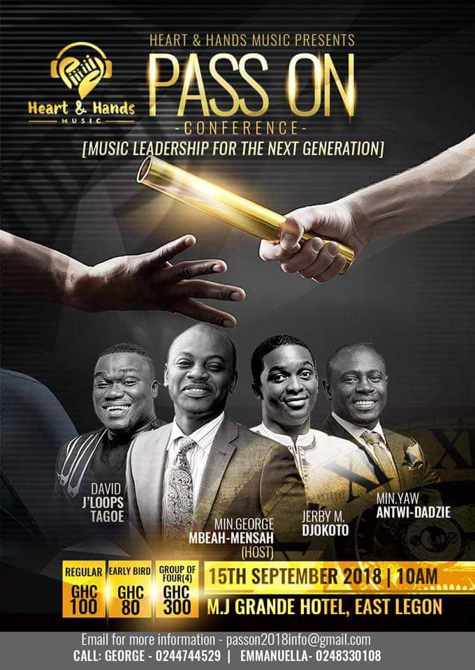 pass on conference - WorshippersGh