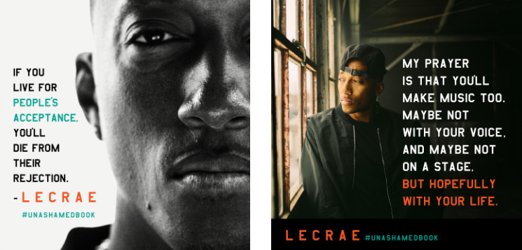 Multiple Award winning Artist, Lecrae launches his new Book