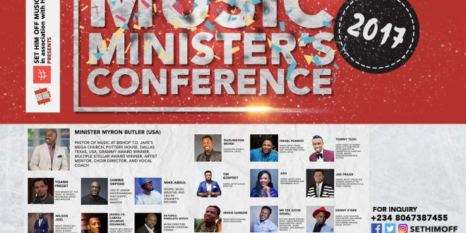 AFRICAN MUSIC MINISTERS CONFERENCE 2017