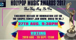 holypop awards