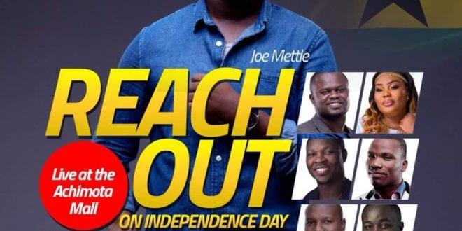 Joe Mettle - reach out