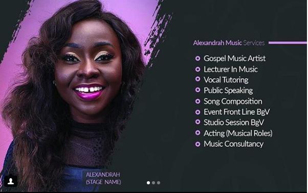 alexandrah - music