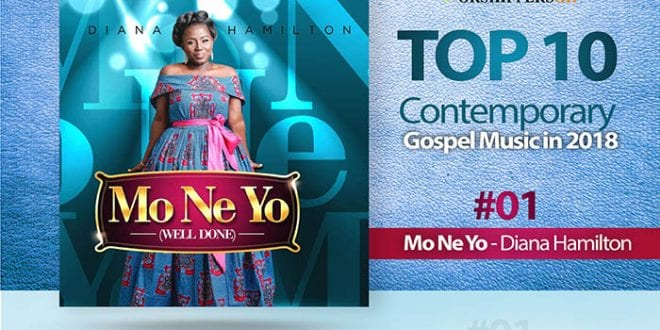Countdown of the Top 10 Ghanaian Contemporary Gospel songs