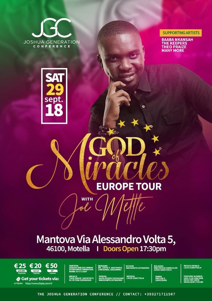 europe tour god of miracle