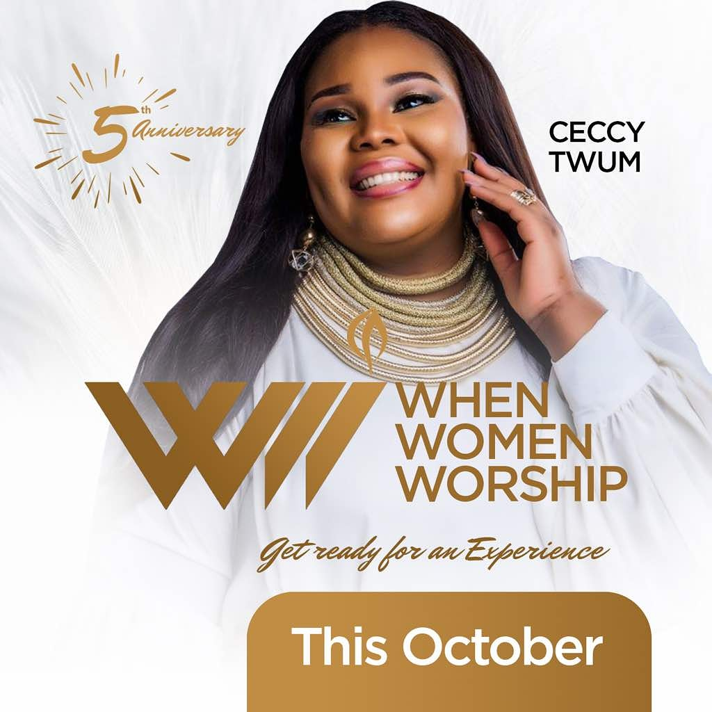 'When Women Worship' – the all women worship concert slated for Saturday October 27 WhatsApp Image 2018 10 22 at 12