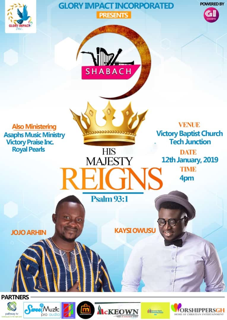 Glory Impact Incorporated invites you to SHABACH 2019 dubbed