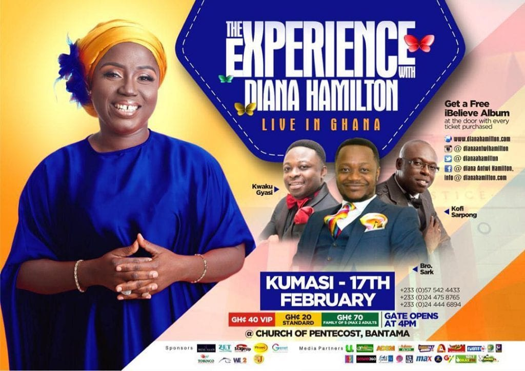 Diana Antwi Hamilton to storm Accra and Kumasi for the 2019 edition of 'The Experience' 47581614 534306540405771 5887292167275408070 n 1024x724