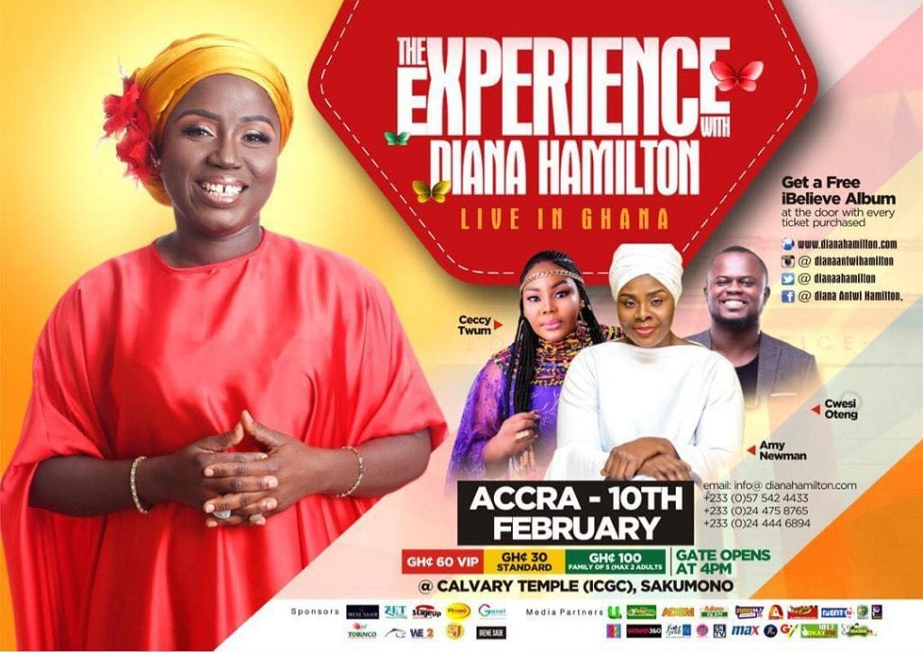 the experience with diana hamilton  Diana Antwi Hamilton to storm Accra and Kumasi for the 2019 edition of 'The Experience' 49390075 374488026451843 731919148415625803 n 1024x724
