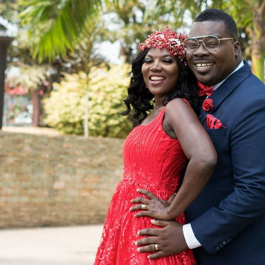 [Photos] Ace broadcaster Fifi Folson celebrates 10 years of marriage on Val's Day. 51305186 937652059757585 5696066226831888184 n
