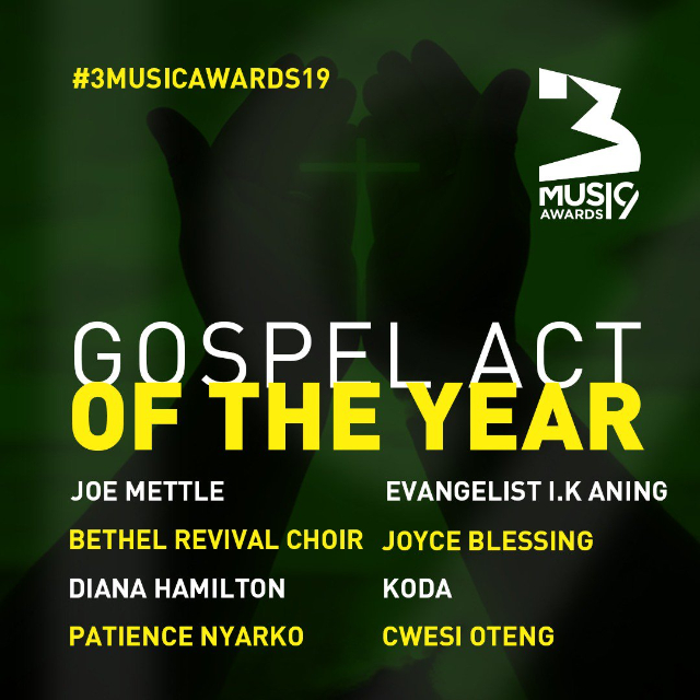 gospel act of the year
