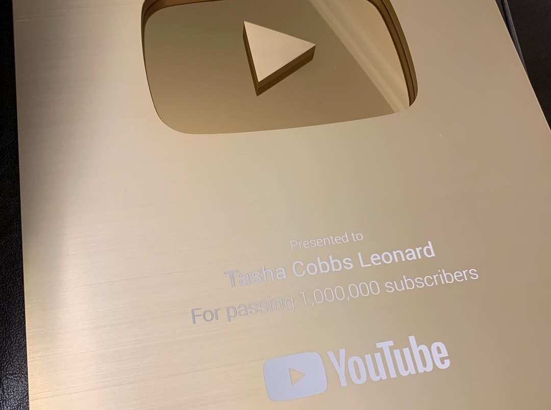 tasha cobbs 1 million youtube subscribers