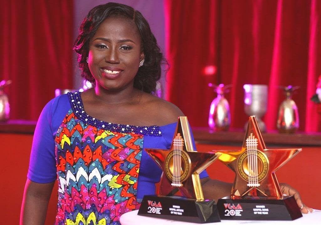 diana antwi hamilton gospel artiste of the year vgma 2019