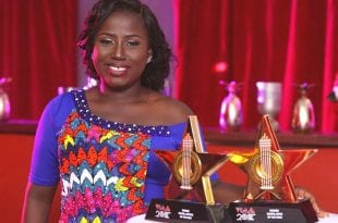 diana antwi hamilton gospel artiste of the year vgma 2019