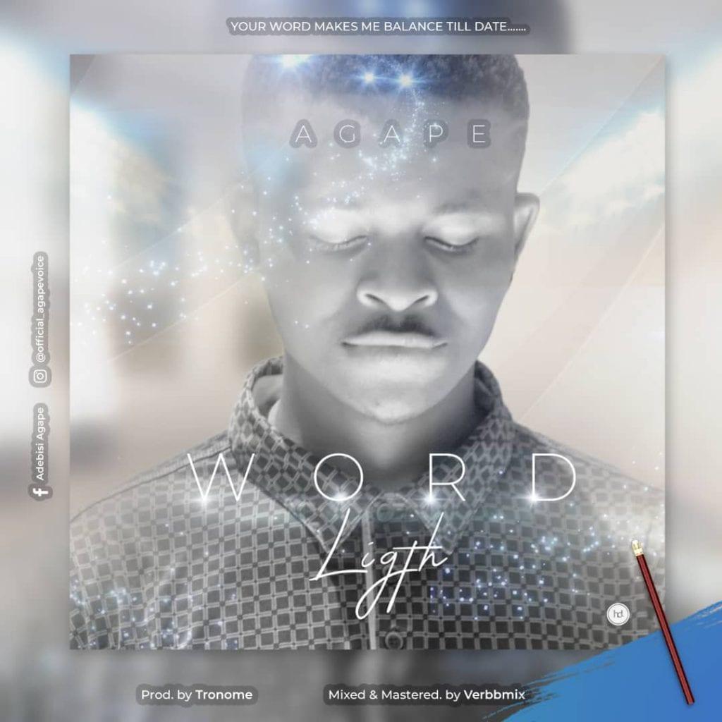 Agape - Word Light