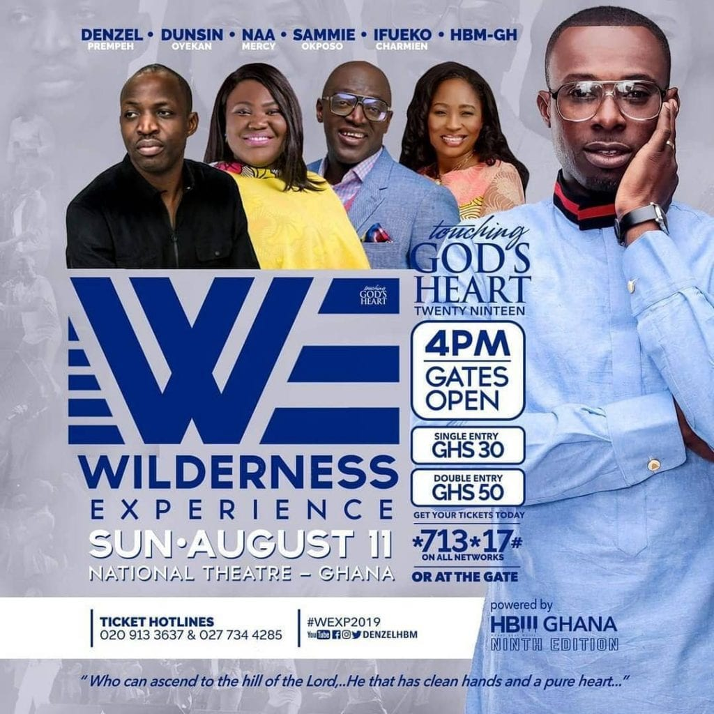 Denzel and HBM Wilderness Experience denzel prempeh Denzel Prempeh to host Touching God's Heart 2019 – #WildernessExperience 65557471 170157600687850 2000602030798945936 n 1024x1024