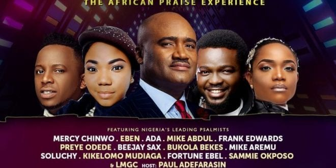 Ps Paul Adefarasin is set to host The African Praise Experience (TAPE) 2019