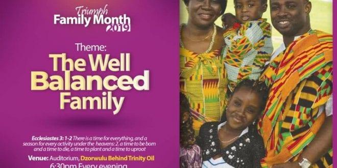 triumph family month