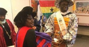 kofi sarpong honored 2