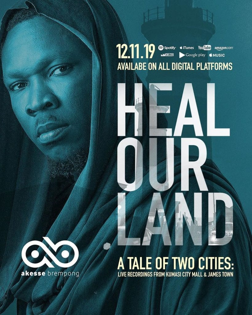 akesse brempong new album heal our land