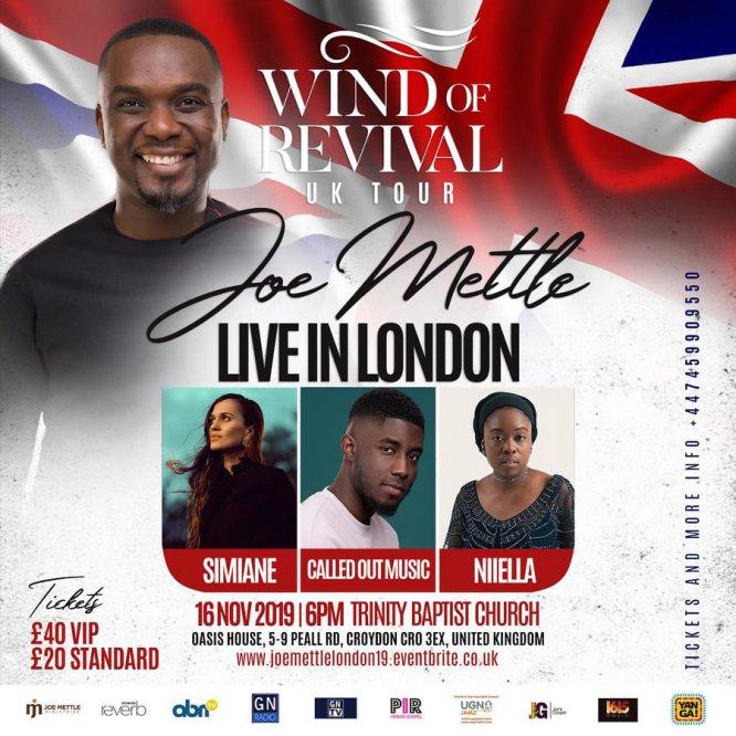 Joe mettle wind of revival world tour 3