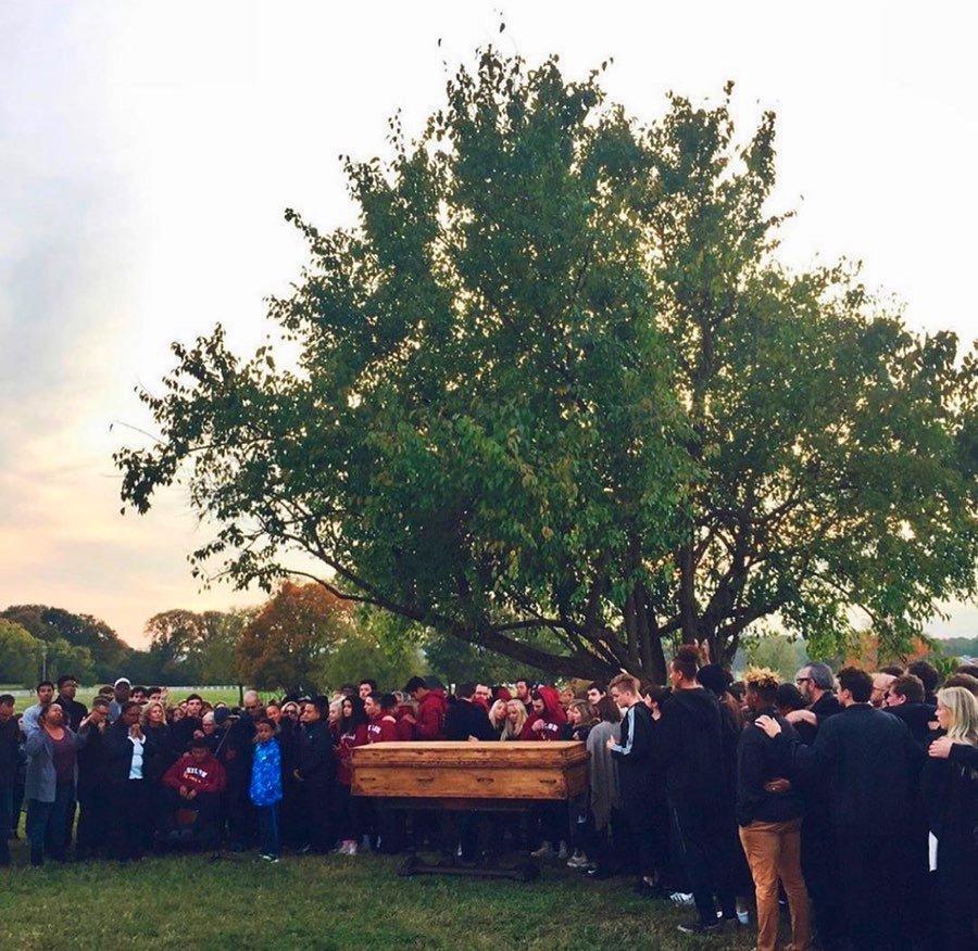 tobby mac's son's memorial service