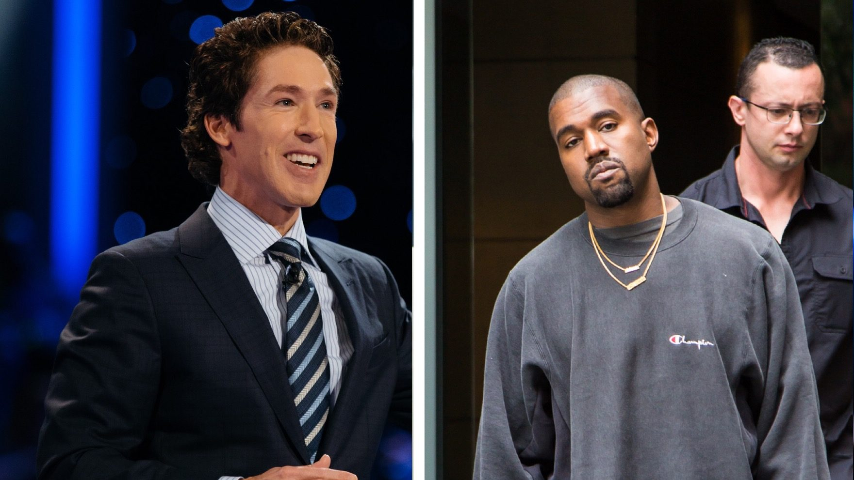 kanye west to appear at Joel Osteen church