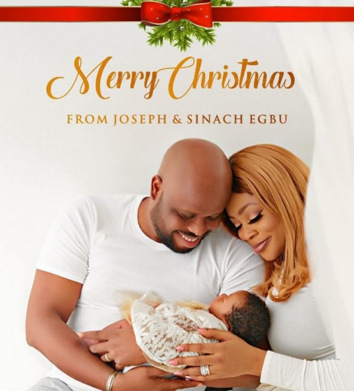 sinach and her baby
