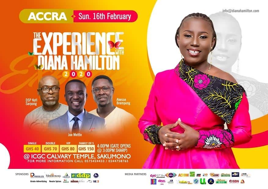 the experience with diana hamilton 2020