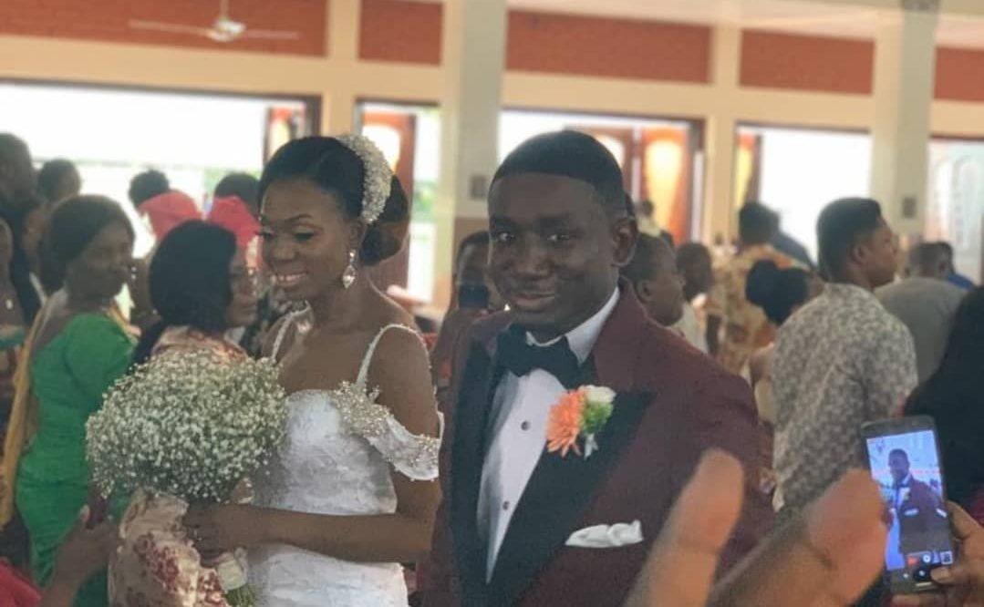 Noble Nketia Marries