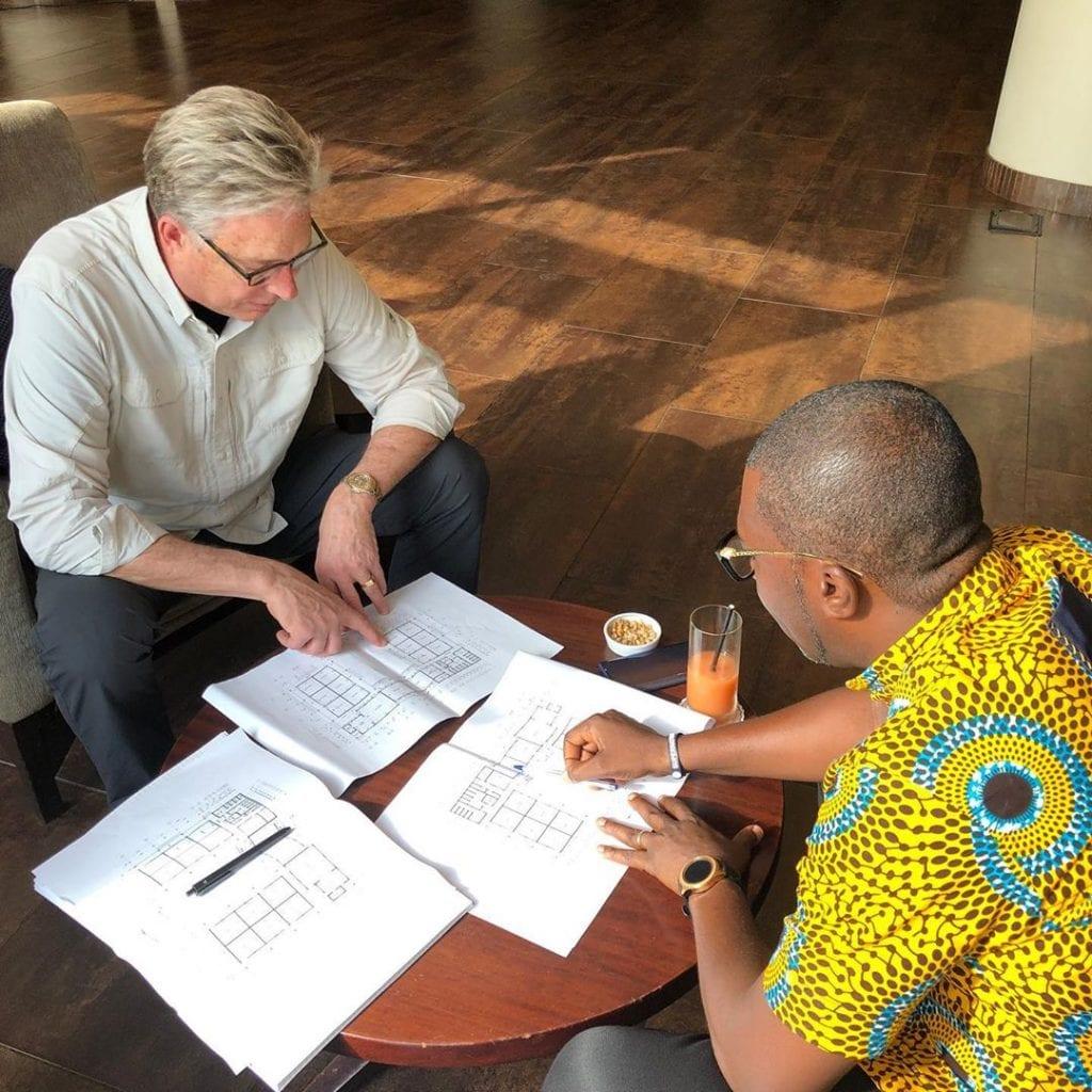 don moen to build a school in ghana