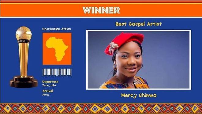 Mercy chinmo AFRIMMA 2020