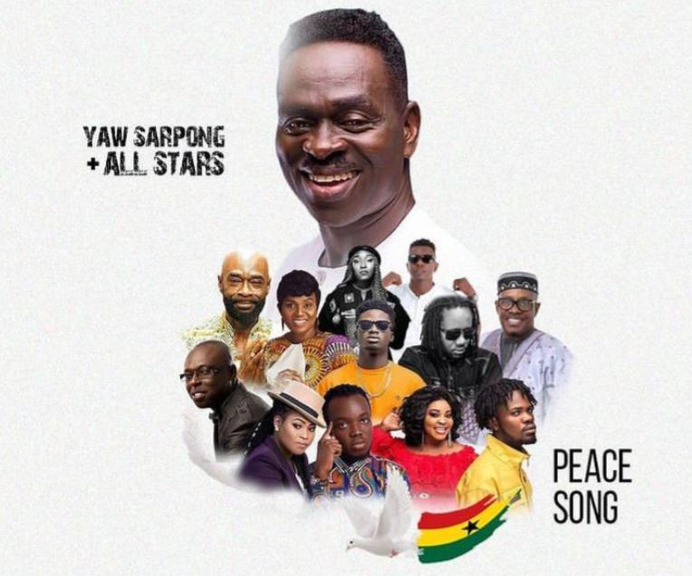 Yaw Sarpong ft all stars Peace Song