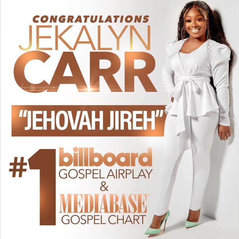 Jekalyn Carr top billboard chart