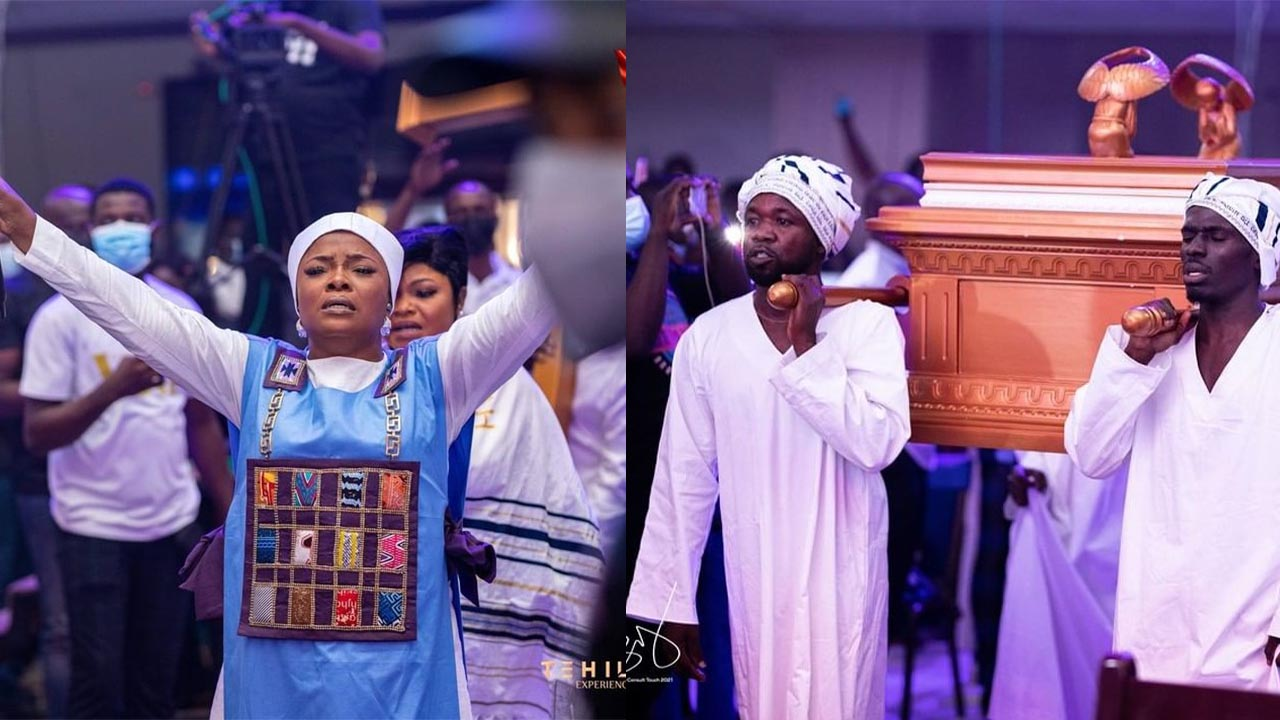 (Pics & Videos) The heavens kissed the earth once again at Tehillah Experience 2021